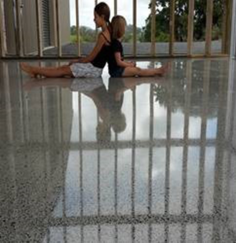 Beautiful Highly Polished Concrete Floors