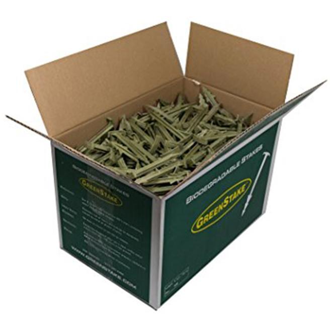 GreenStake Pins (100% Natural - Biodegradable) image 1