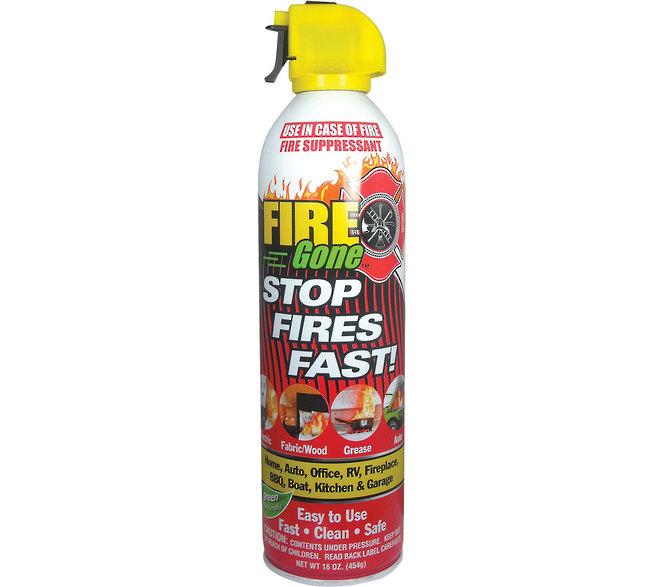Fire Gone Aerosol Fire Extinguisher image 0