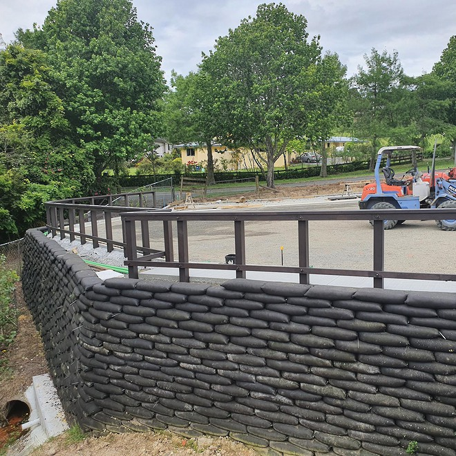 Flex MSE Vegetated Retaining Wall System image 0