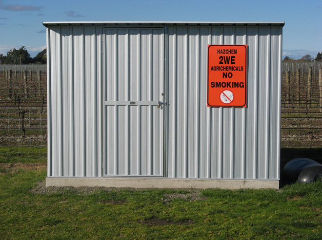 Chemical Storage Sheds image 1