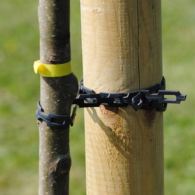 Chain Lock Tree Tie image 1