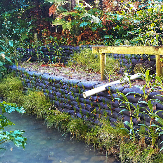 Flex MSE Vegetated Retaining Wall System image 2