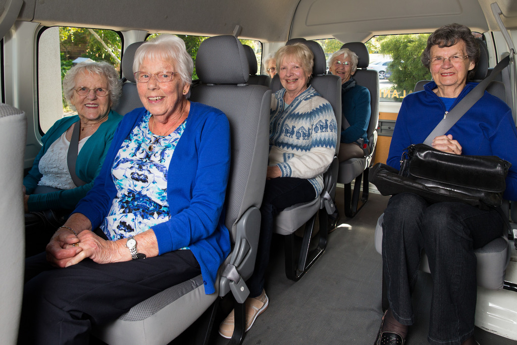 Day trips for the residents of Alandale