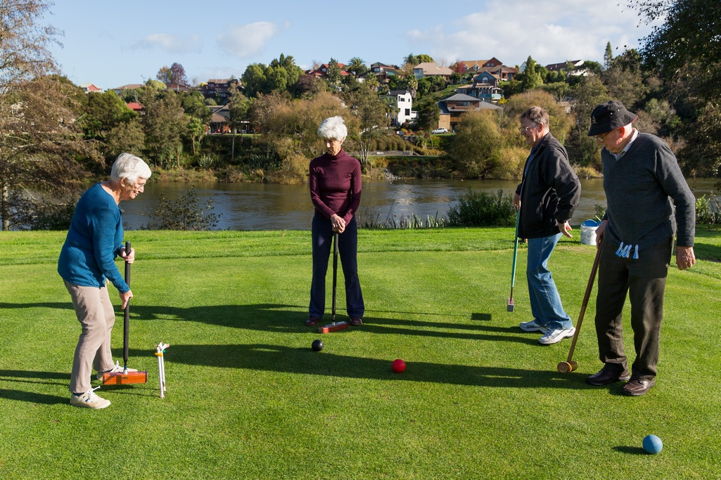 Waikato Rest home croquet