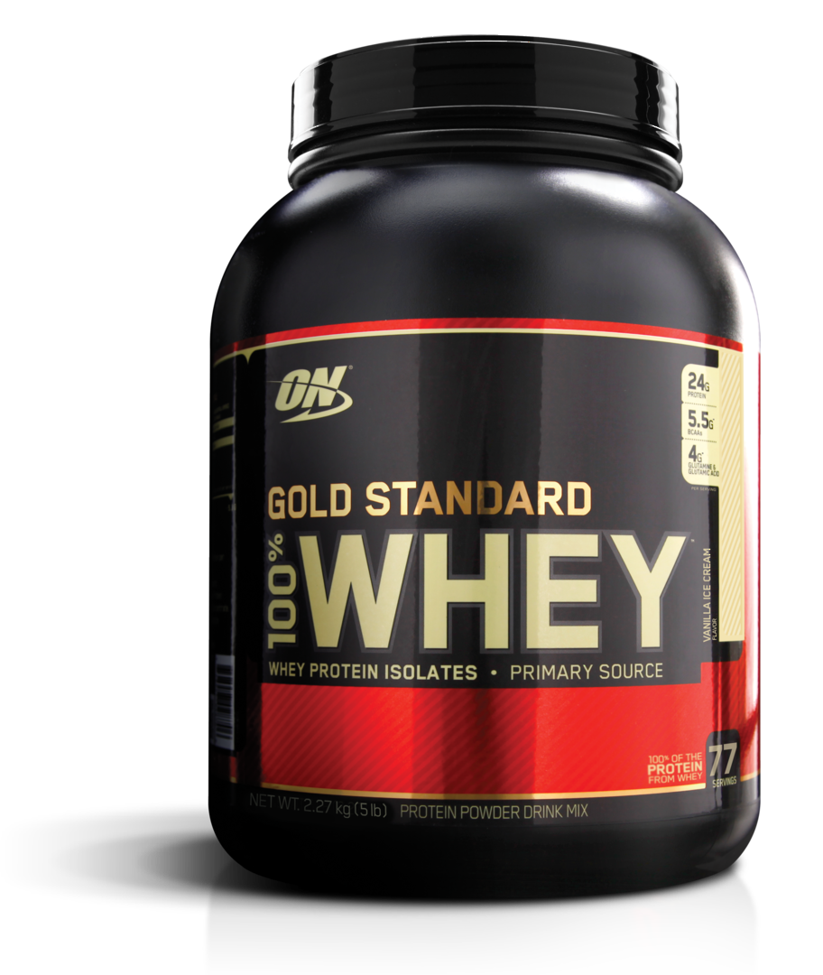 Gold standard 100% Whey Protein image 0