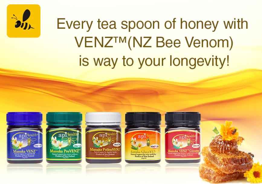 ApiHealth Bee Venom honey VENZ