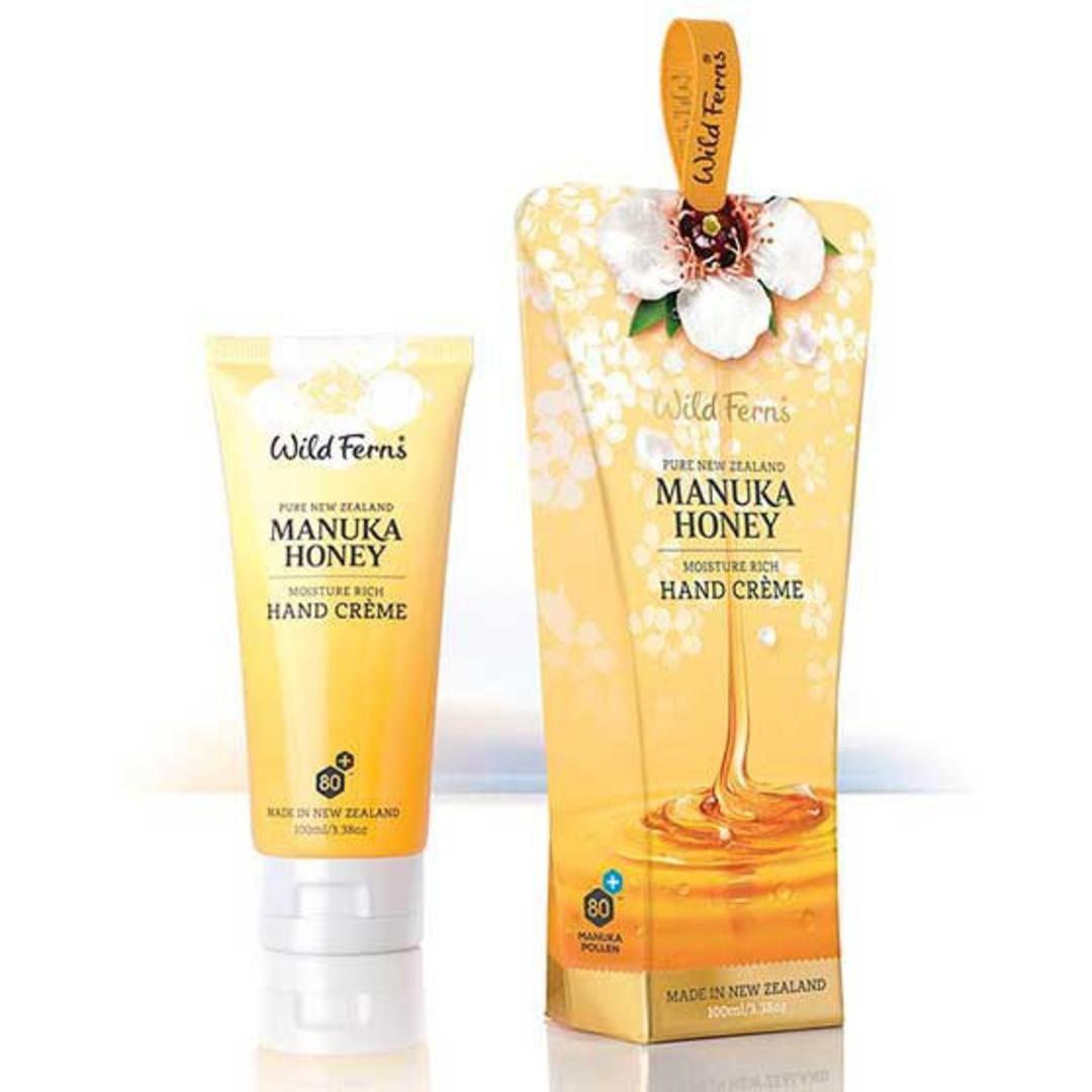 Wild Ferns Manuka Honey Hand Creme image 0