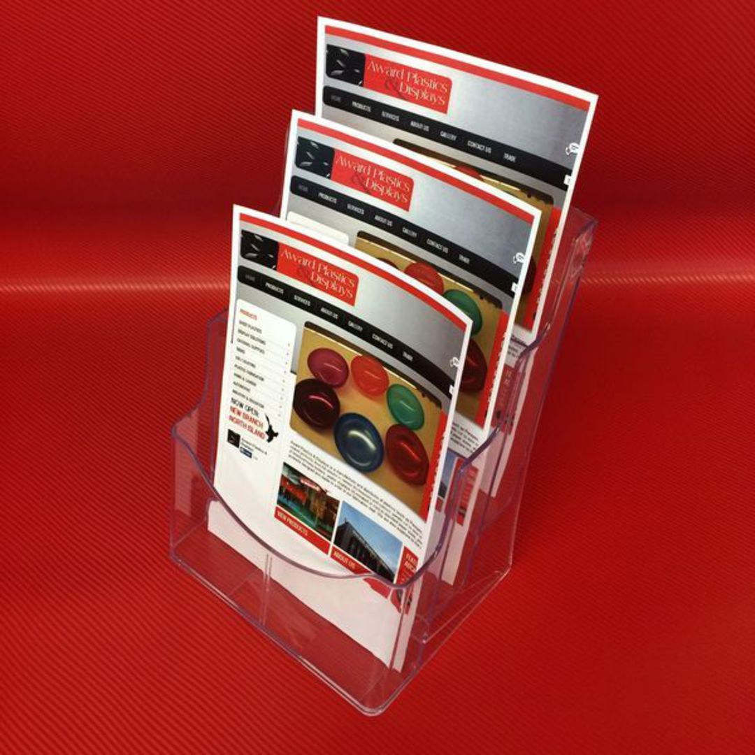 A4 3-Tier Brochure Holder image 1