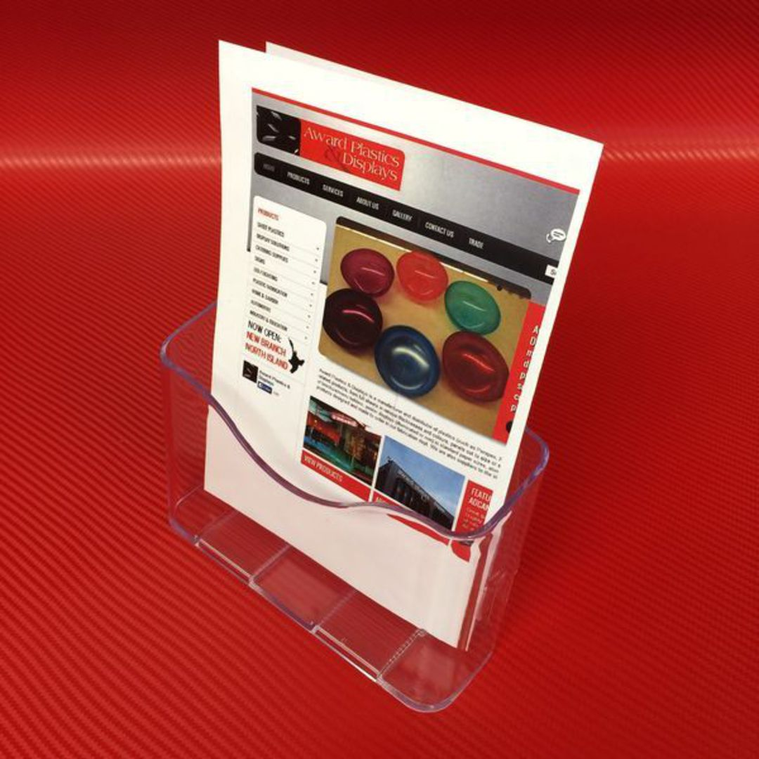 A5 Single Pocket Brochure Holder image 1