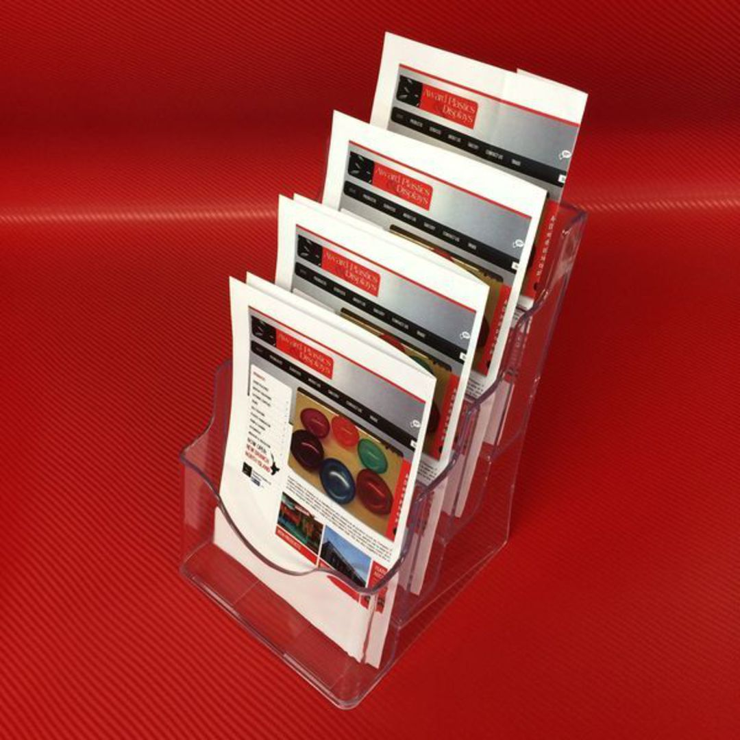 A5 4-Tier Brochure Holder image 1