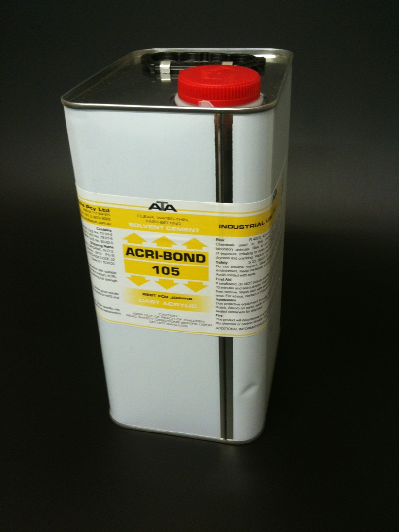 105 Acribond 4.0L Tin Solvent Adhesive image 0
