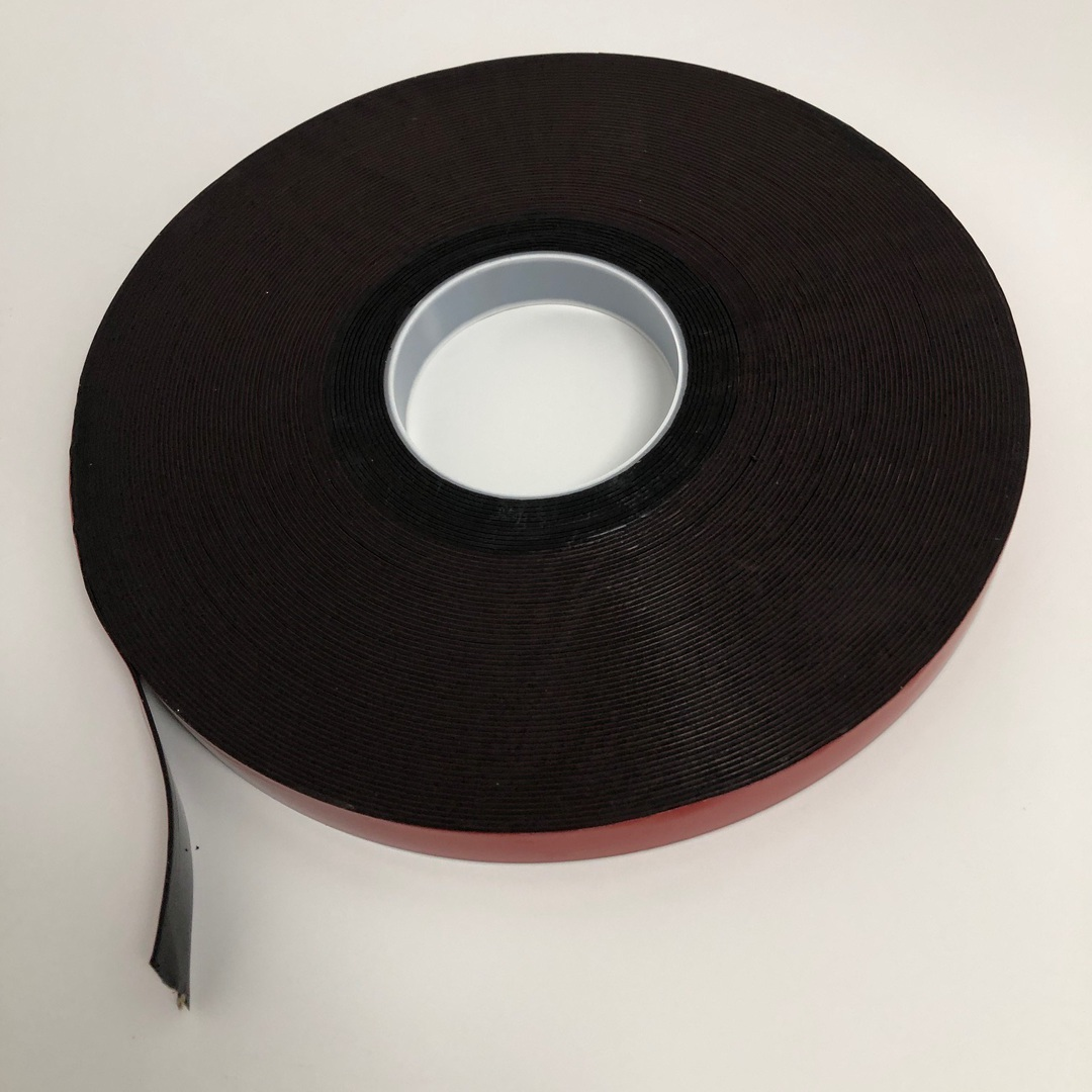 Black Acrylic Foam Double Sided Adhesive Tape image 0