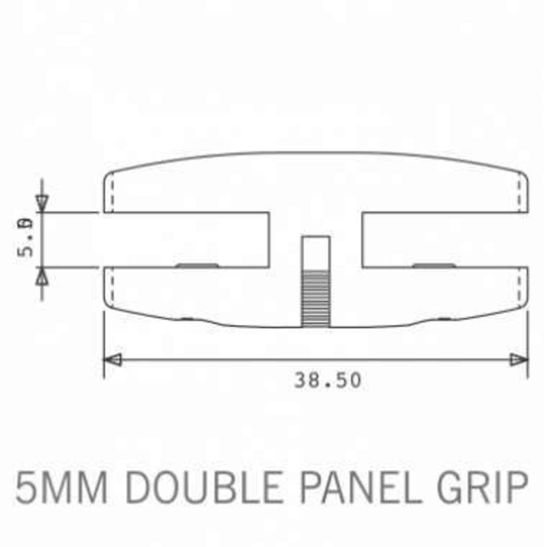 Axis Double Panel Grip 5mm image 1