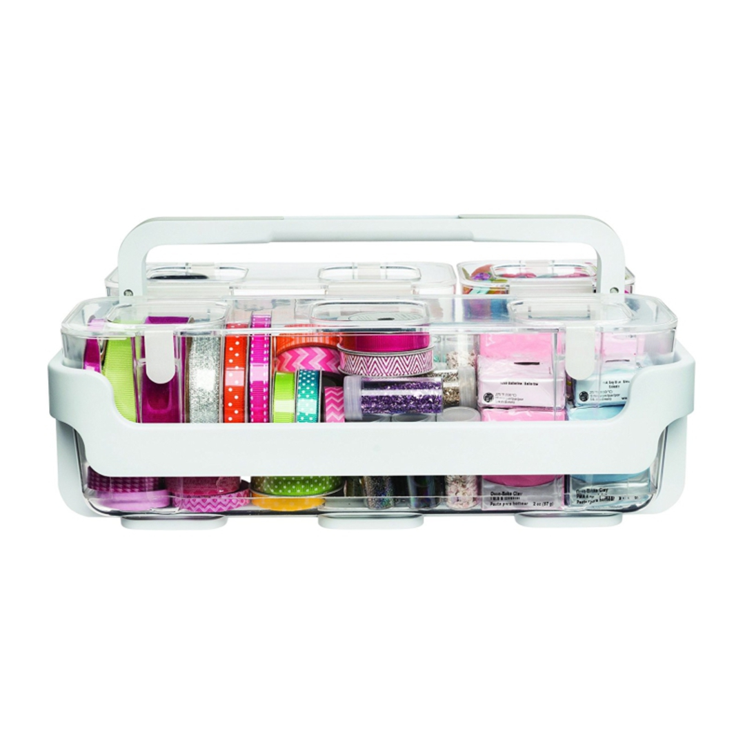 Stackable Caddy Organiser with 3 Containers image 5