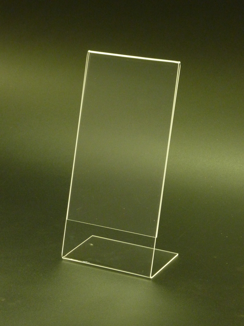 DLE Portrait Slanted Leanback Menu Holder image 0