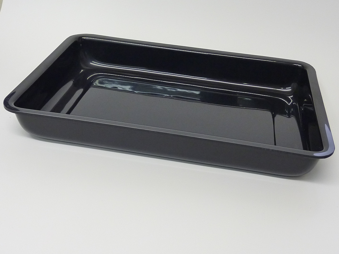 (Tray-016-ABSB) Tray 016 Black image 0