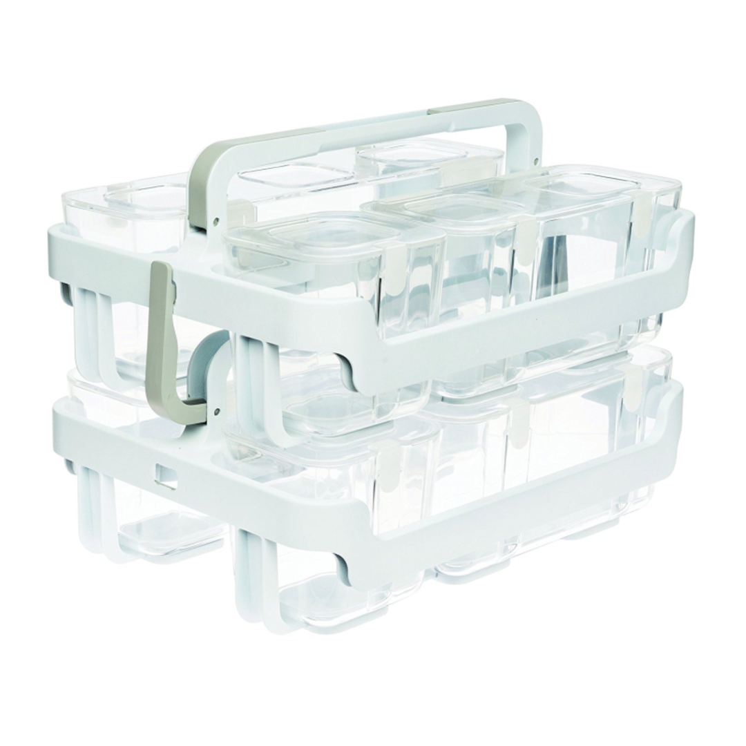 Stackable Caddy Organiser with 3 Containers image 3