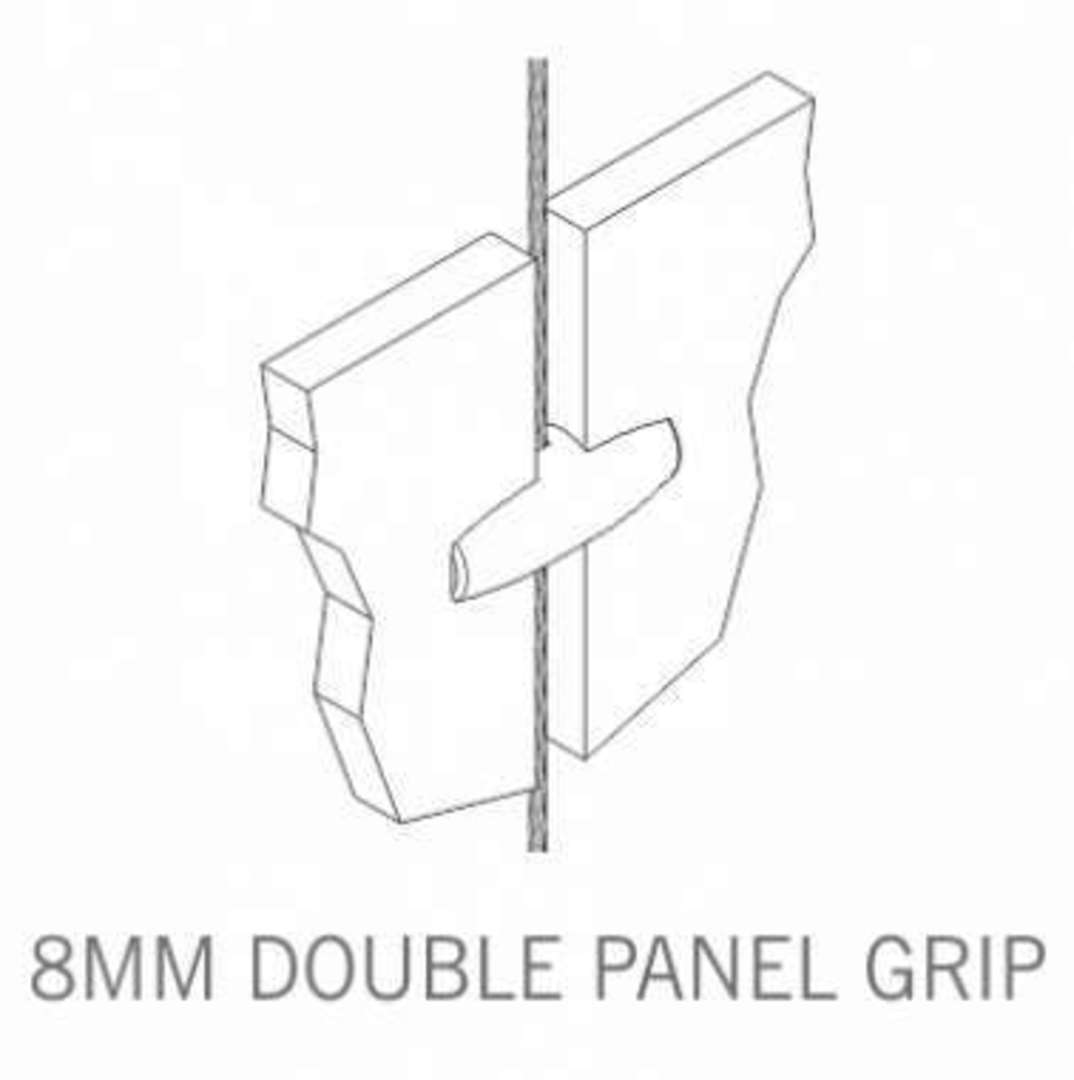 Axis Double Panel Grip 8mm image 2