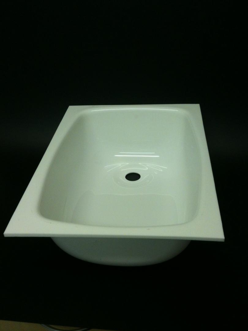 Caravan Large Sink A White image 0