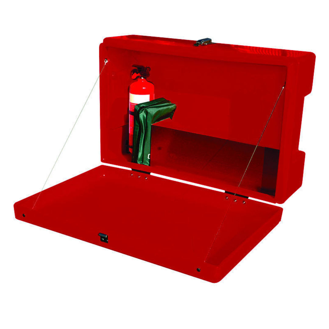 Site Safety Box Red image 1