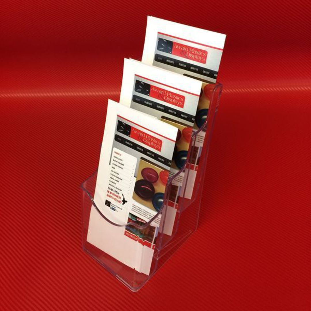DLE 3-Tier Brochure Holder image 1
