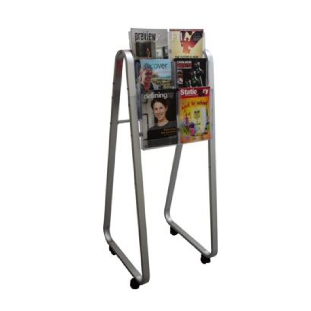 Lit-Loc Easel Floor Stand Small 2xA4 image 1