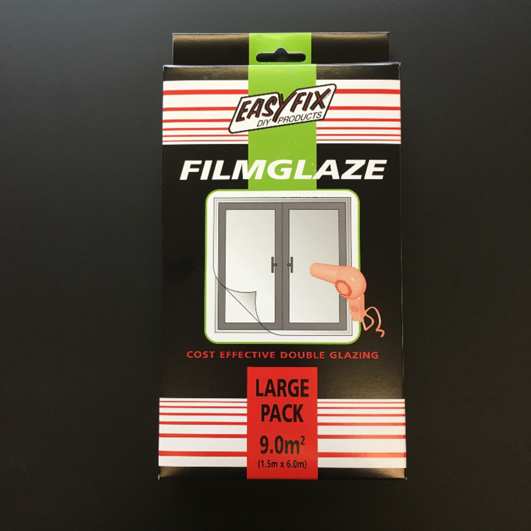 Filmglaze DIY Double Glazing 9m2 Pack image 0