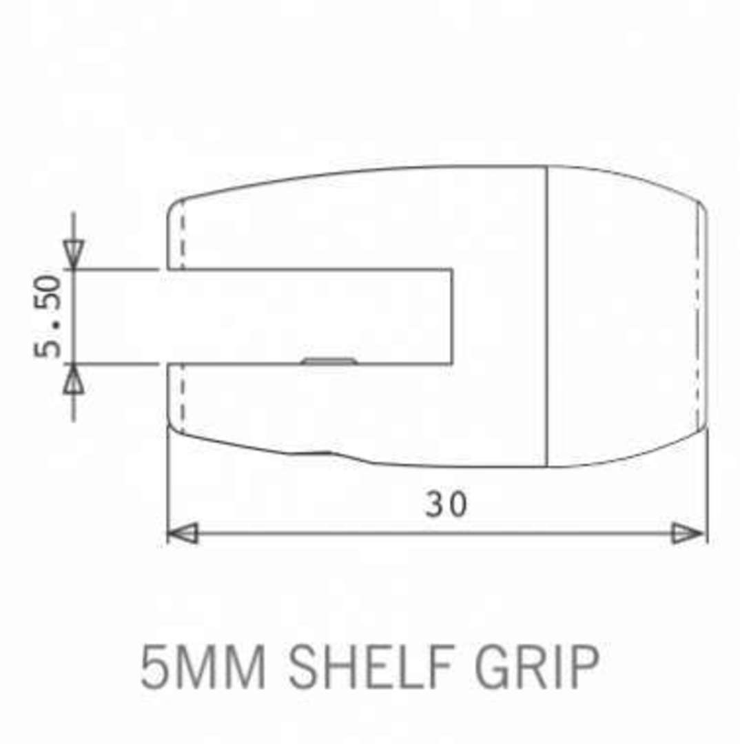 Axis Shelf Grip 5mm image 1