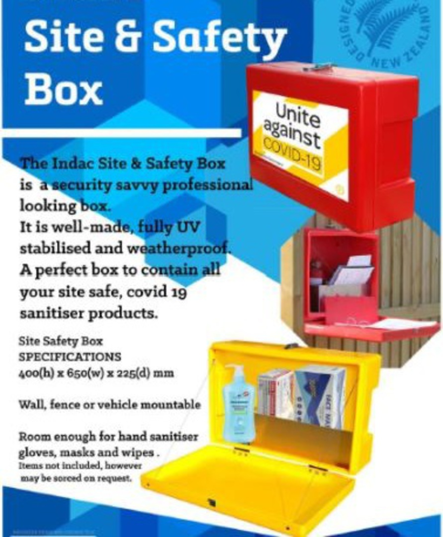 Site Safety Box Orange image 2