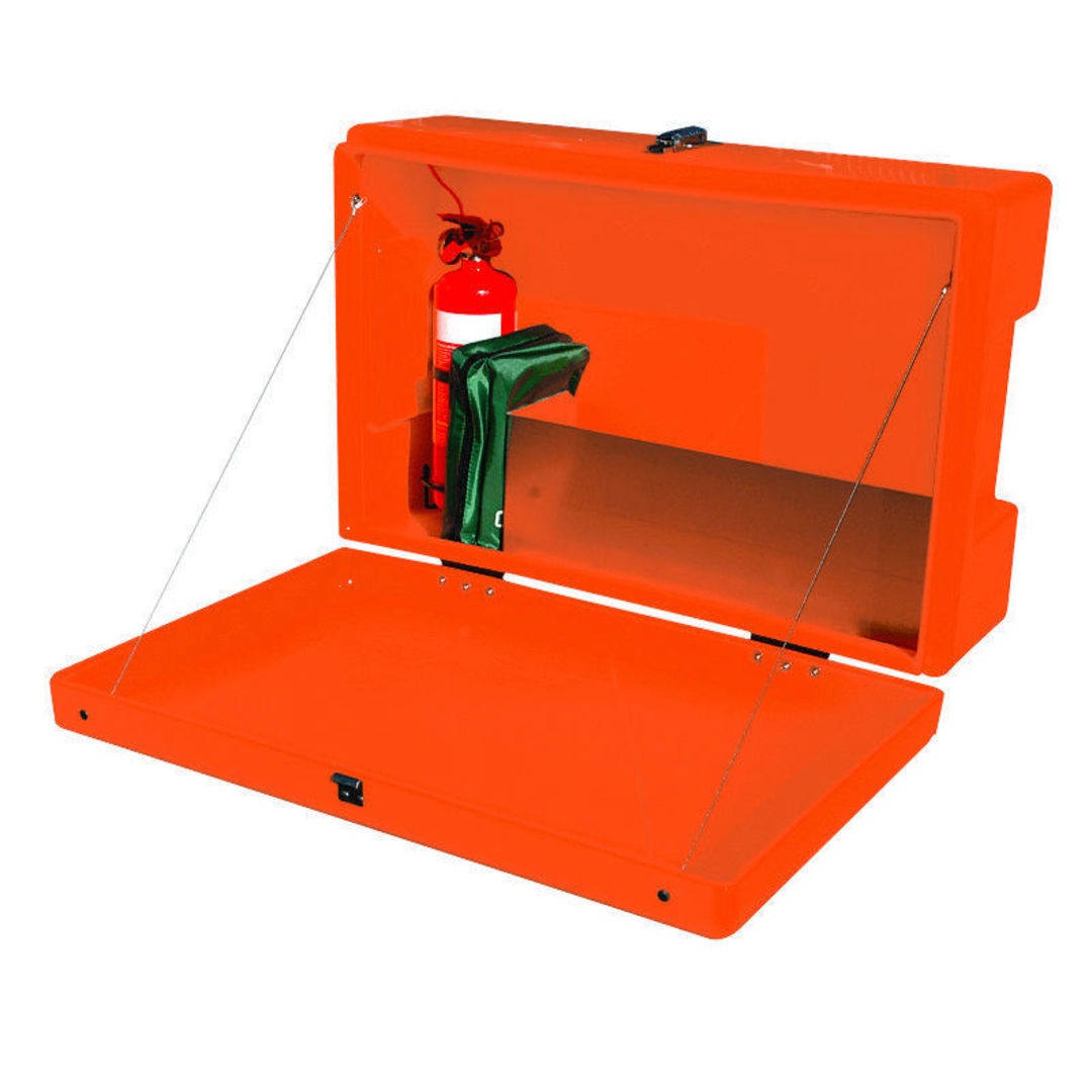 Site Safety Box Orange image 1