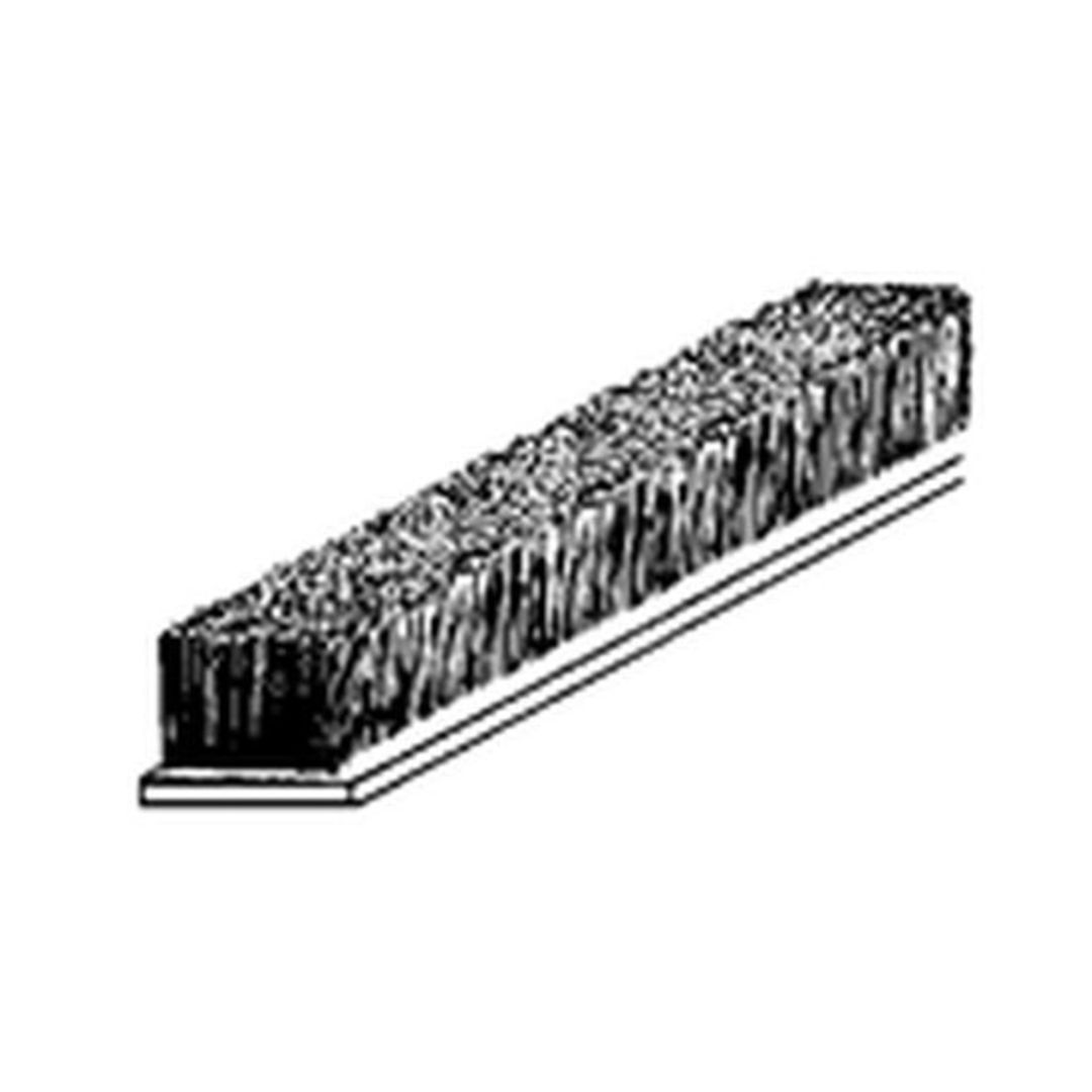 (DGDE933) Bristle Seal Brown Draught Excluder 5m Roll image 0