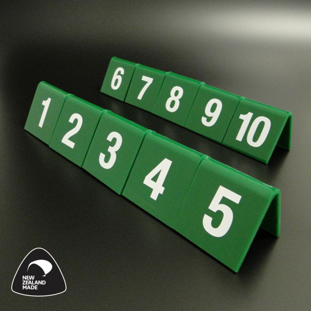 Green Table Numbers 1-10 image 0