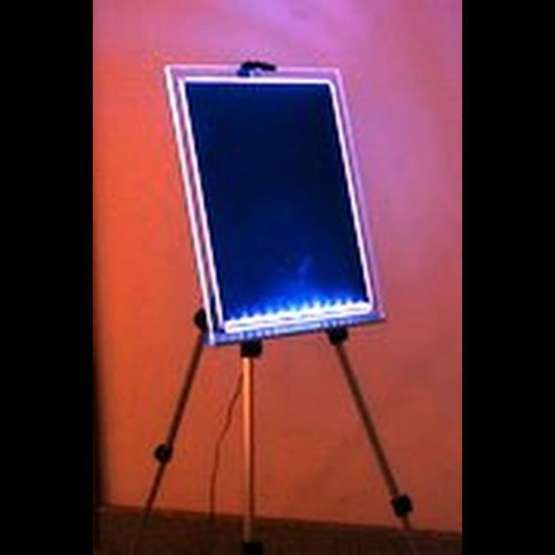LED Writing Board Clear Frame A2 image 0