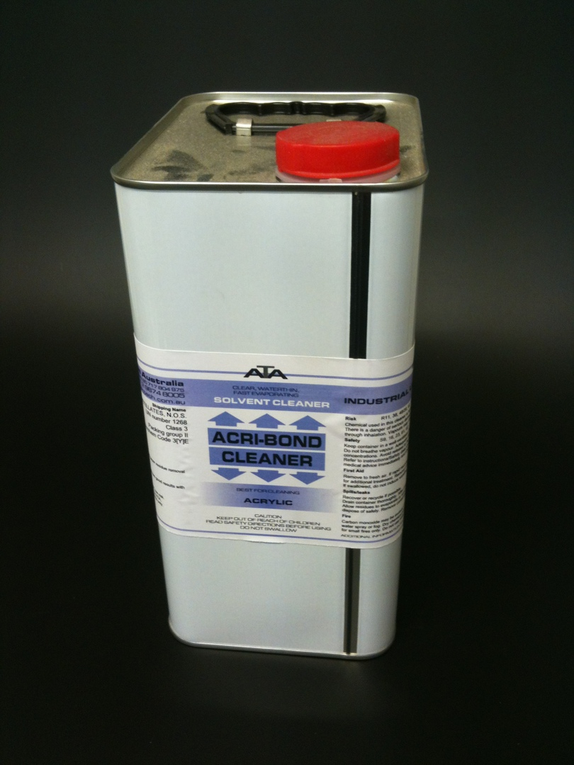 Acrylic Cleaner 4L Tin image 0