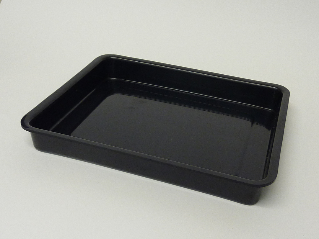 (Tray-001-ABSB) Tray 001 Black image 0