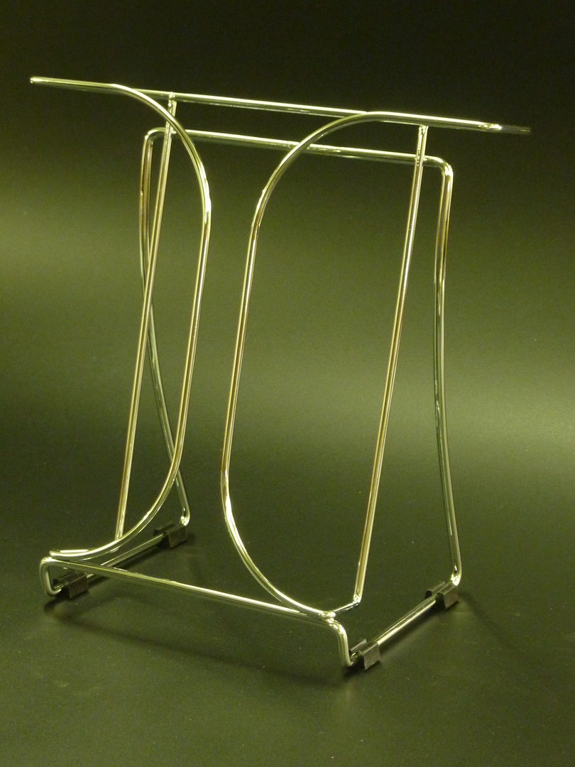 (78145) Chrome Wire Brochure Holder, A4 image 0