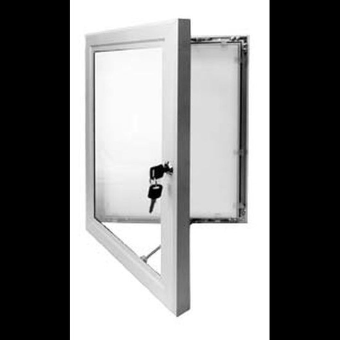 A2 Outdoor Lockable Poster Frame image 0