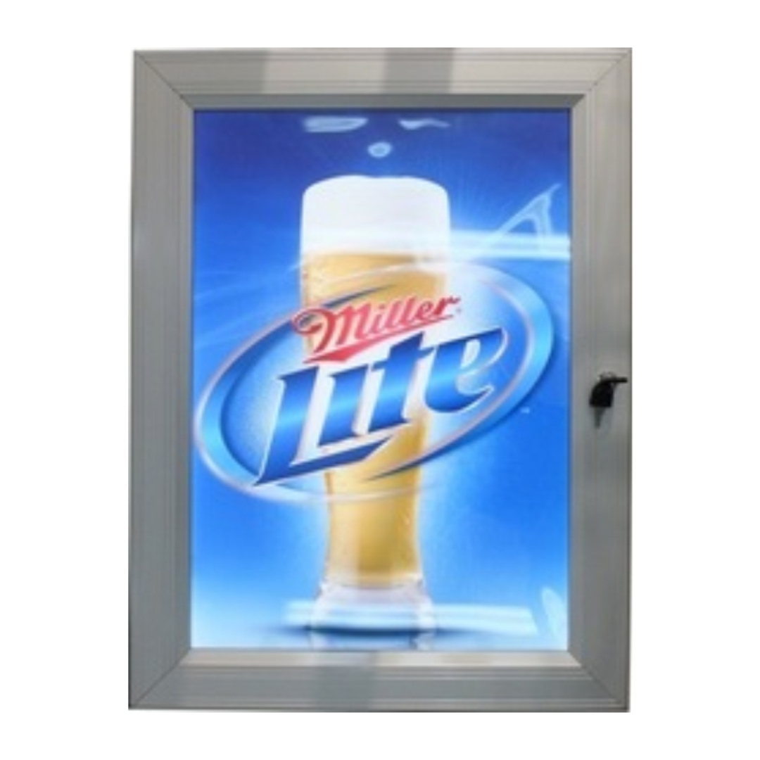 A0 Outdoor Lockable Light Box image 0