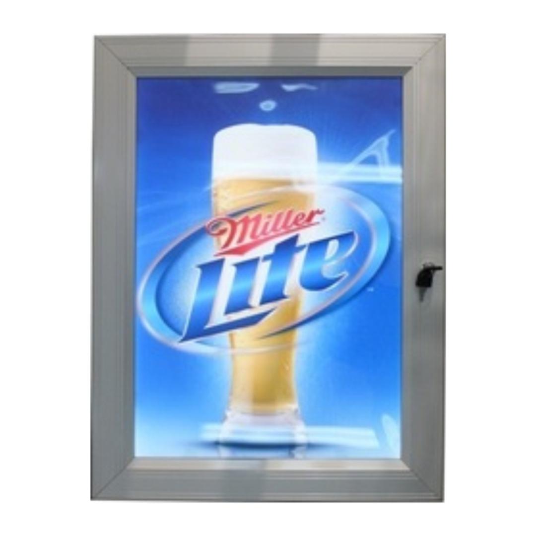 A0 Outdoor Lockable Light Box image 0