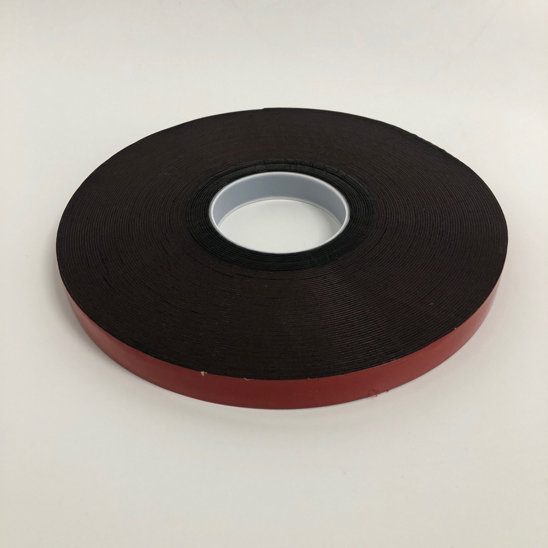 Black Acrylic Foam Double Sided Adhesive Tape image 1