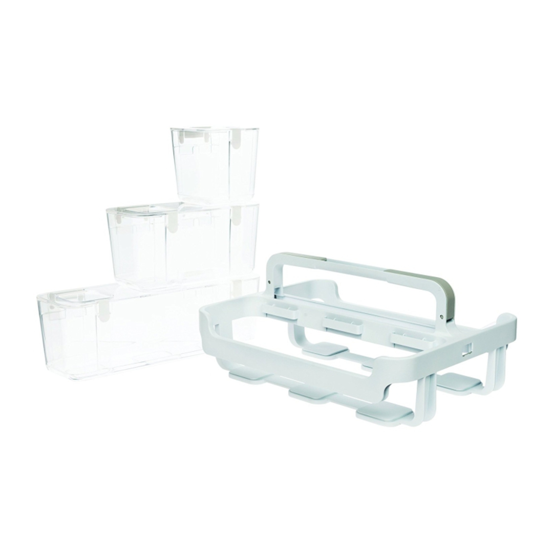 Stackable Caddy Organiser with 3 Containers image 7