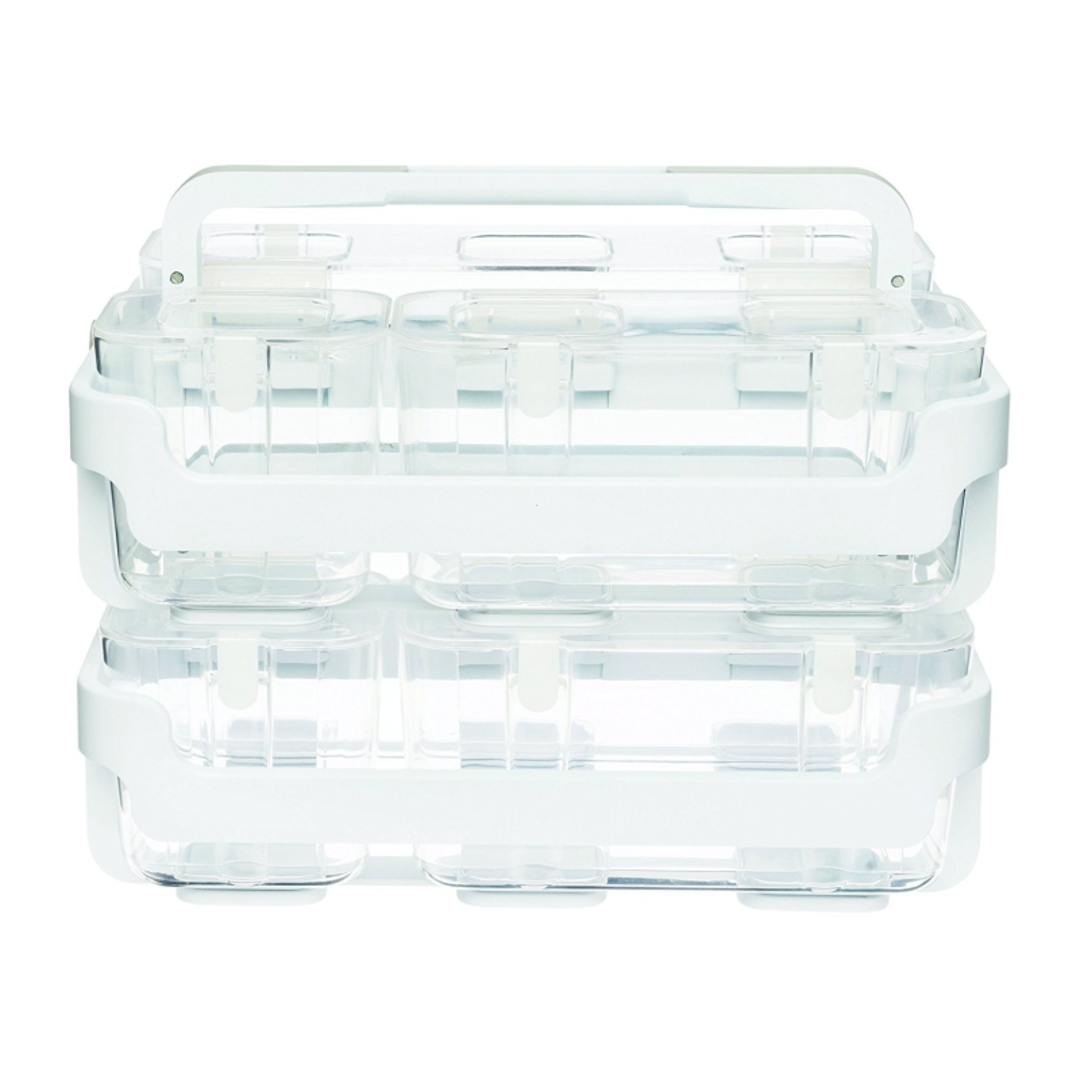 Stackable Caddy Organiser with 3 Containers image 6
