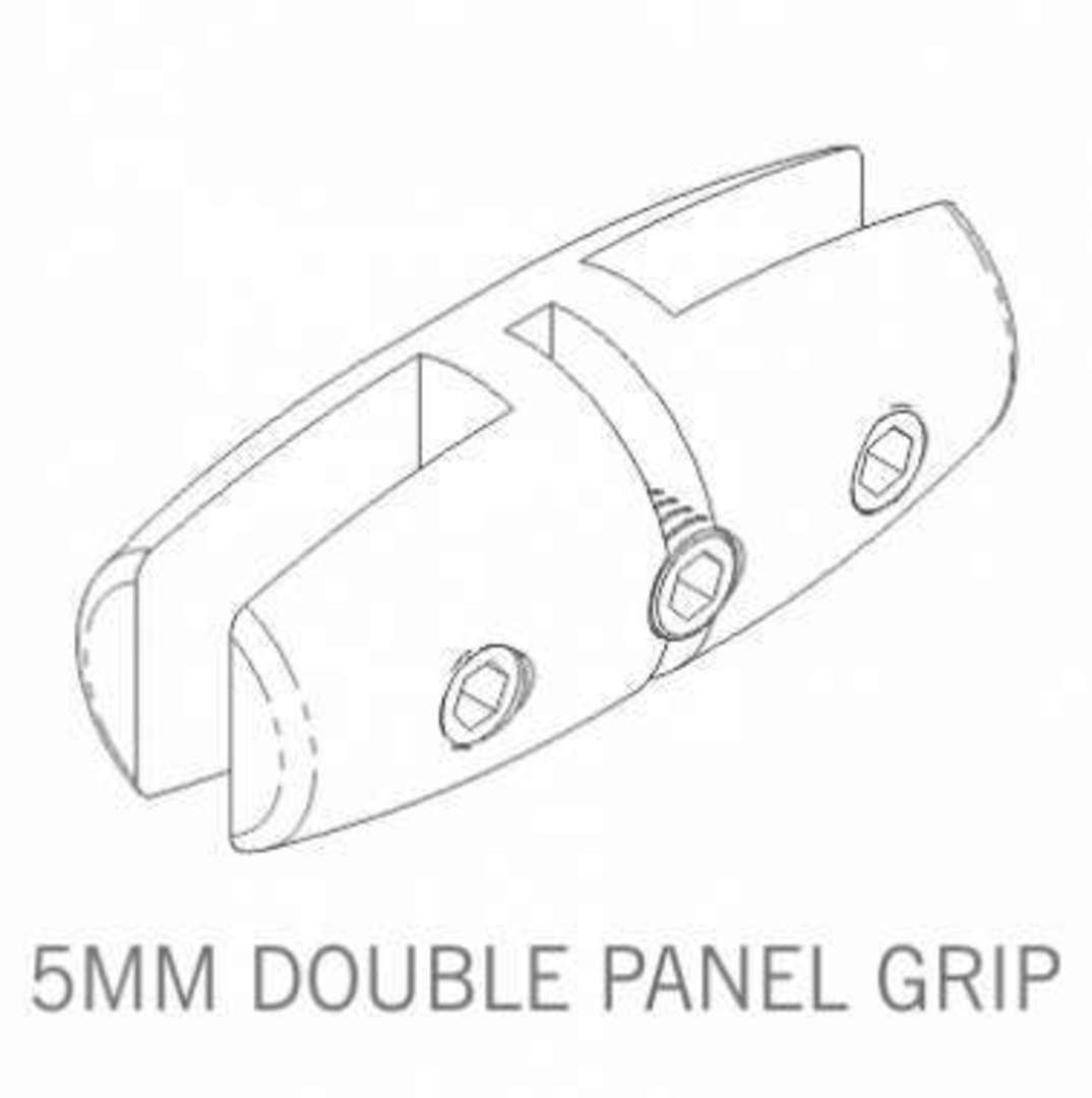 Axis Double Panel Grip 5mm image 0