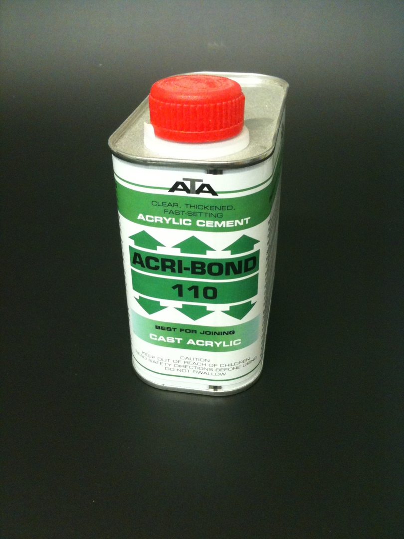 110 Acribond 0.5L Tin Solvent Adhesive image 0