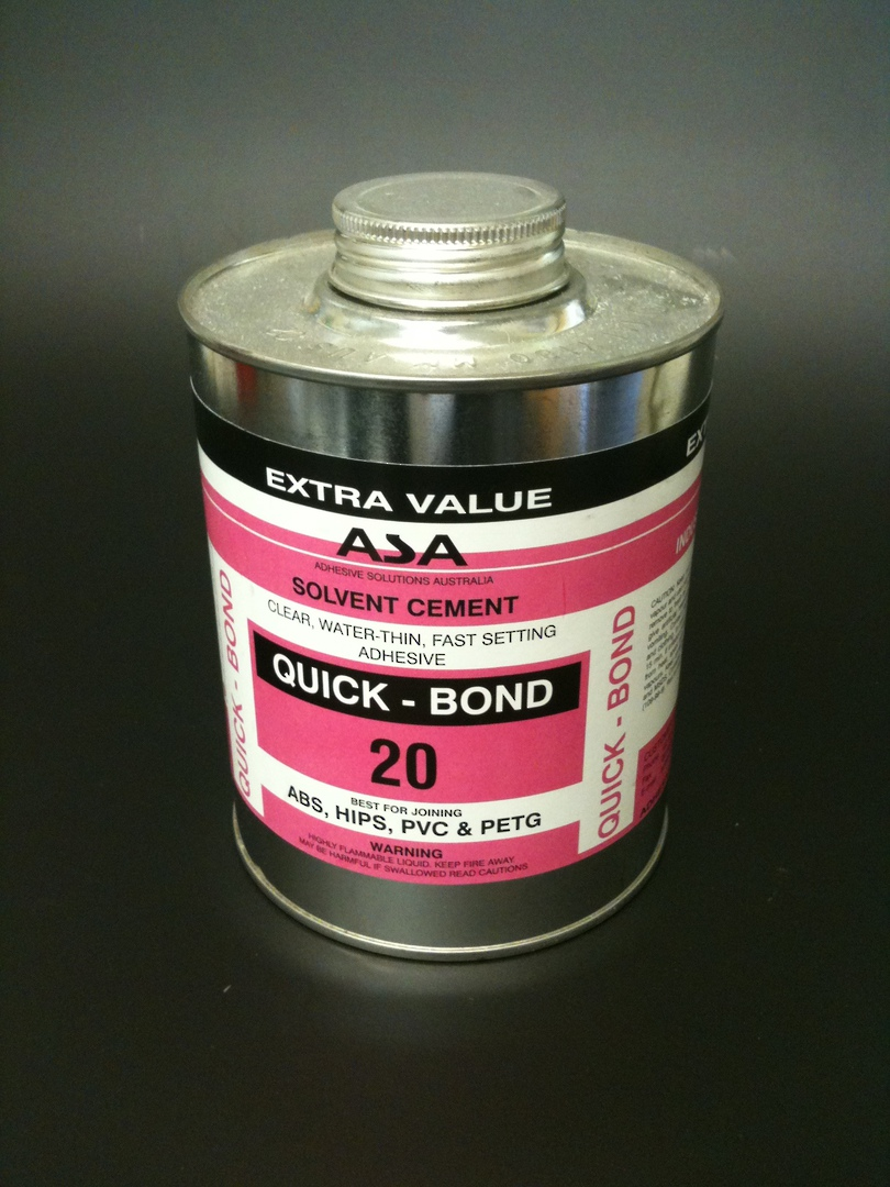 120 Acribond 4.0L Tin Solvent Adhesive image 0