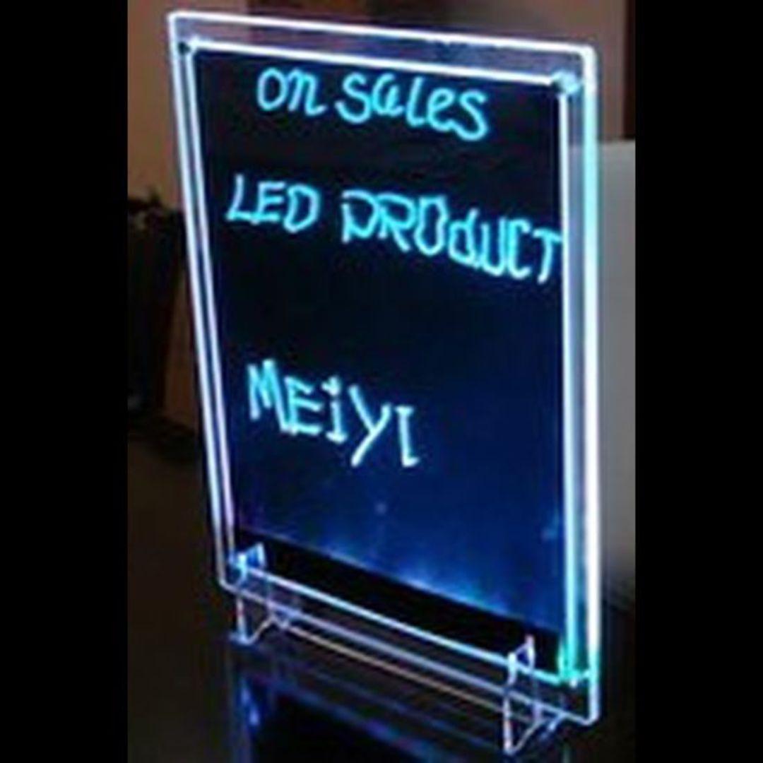 LED Writing Board Clear Frame A3 image 0