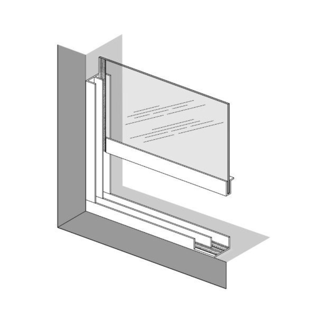 Trackglaze Vertical Sliding System for Sash Windows Brown image 1