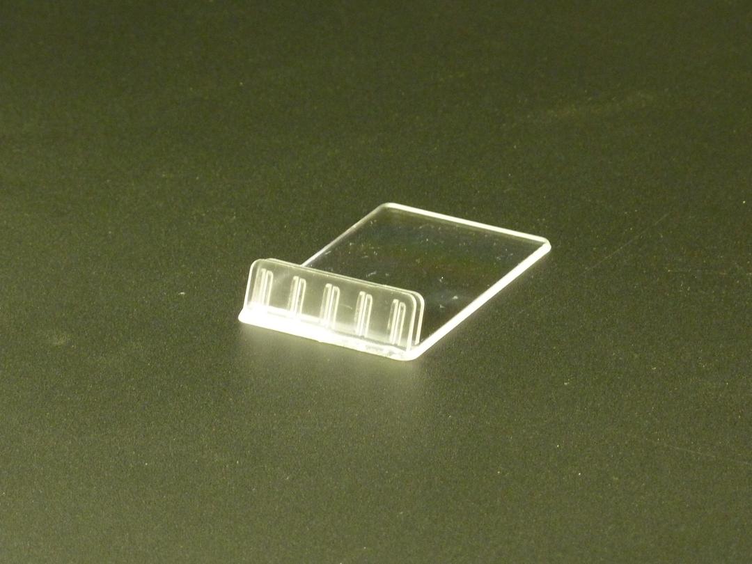 Slanted Sign Base Vertical Card Holder 1mm image 0