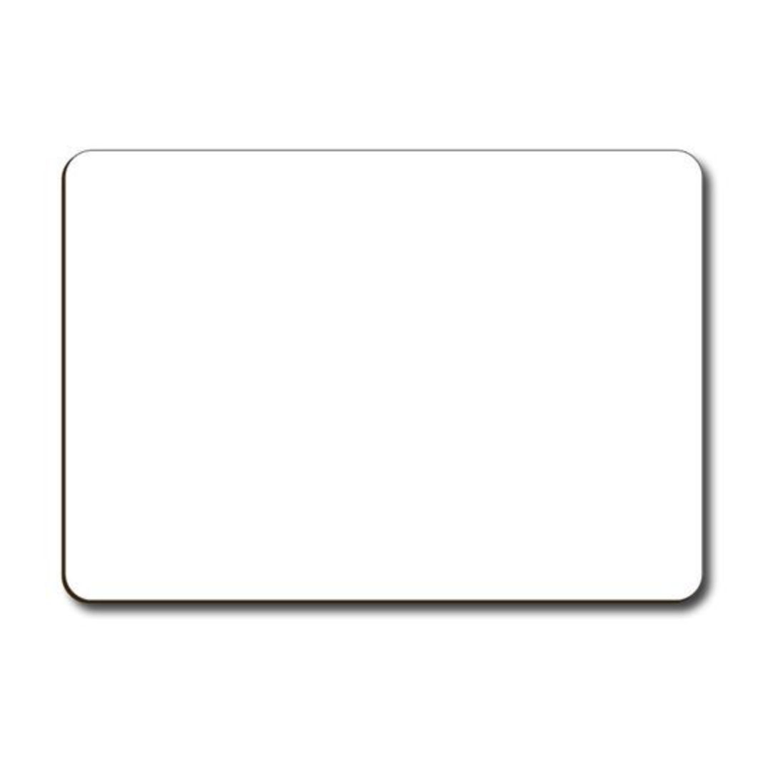 (81404) Dry Erase Blank Whiteboard A4 image 0